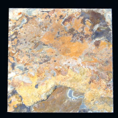 "Natural Cleft Madrid Apricot Slate 12""x12""x3/8"""