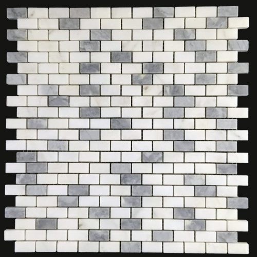 Honed Eastern White & Grey Mini Brick
