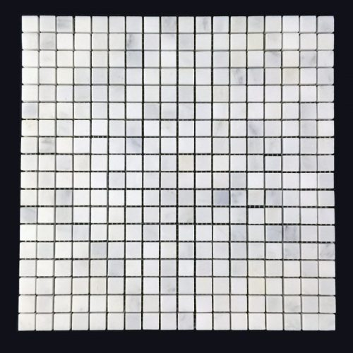 "Honed Eastern White Mosaic 5/8""x5/8"""